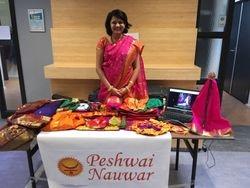 Peshwai Nauwar booth at Netherlands Marathi Mandal Ganesh Utsav