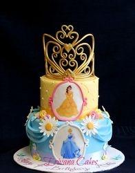Princess tiara cake  3b