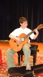 Dani's First Solo Recital, NMS, 2010.
