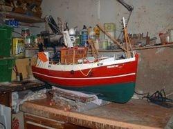 Transom stern trawler