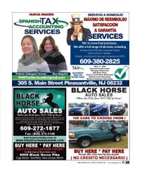 Spanish Tax Accounting Services / Black Horse Auto Sales