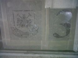 West Ham badge house plaque