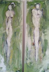 Adam und Eva - Dyptichon
