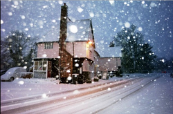 The Bell in Snow