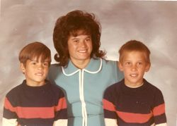 John, Joanne & Mark (Sister and Nephews)