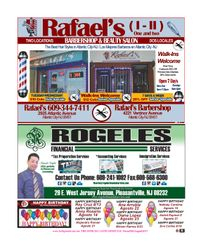 Rafael's Barbershop, Rogeles Financial services, Latino Business.