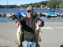 Al P. takes 1st with 13.39lbs and 4.76lb BF