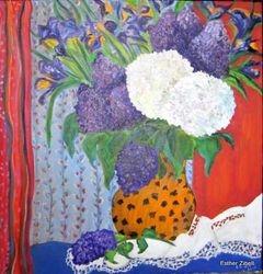 Sabbath Bouquet with lilacs