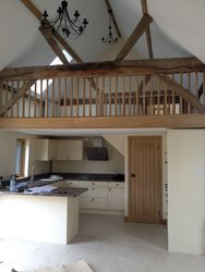 Barn conversion with heat pump Haynes