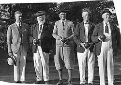 Kerrisdale Bowls Club - July, 1920's