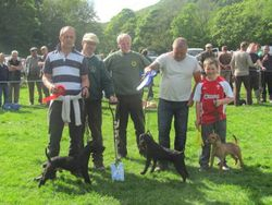 Dave Bonnett Memorial Best Working Terrier 2011.