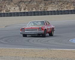 Third Place 1973 Chevrolet Chevelle at turn 2