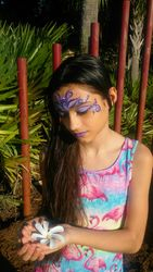 Face painting by Tabitha