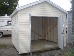 10x10 w/ double door