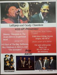 Ray, Goodman & Brown, Delfonics, Intruders, Mousey Thompson JB Experience