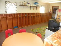 School-Age 'Cubby' Area