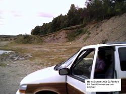 Sand-Pit in Vermont