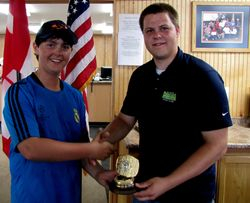 State & Zone Class Singles Championship High Jr Steven Brown