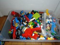 Lego- 10-12 lbs of Miscellaneous Legos - $50
