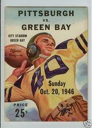 1946 Pittsburgh Steelers vs. Green Bay Packers