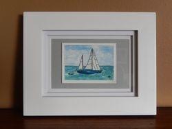 Sailboat, 4x3 $75