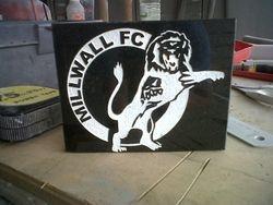 Millwall fc hand drawn