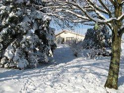 Le Jardin dans l'hiver