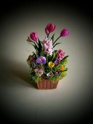 Hyacinth spring planter