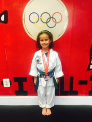 July 4-10-2015  USAT National  Championships Austin Texas  Madelyn Duran 3rd Place Sparring