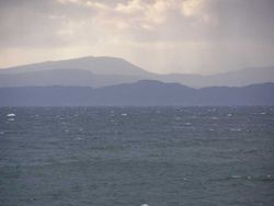 Raasay and Skye from Applecross