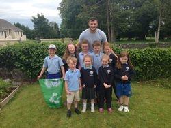 Junior Classes meet Robbie!
