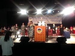 Rev. Dr. Bernice King address the PNBC