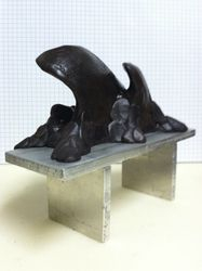Mane Bench maquette