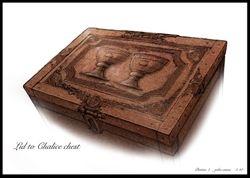 Goblet case lid detail