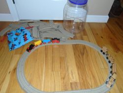Thomas The Train: Trackmaster Tracks and Trains - $20