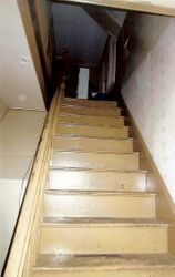 Stairway to second level......