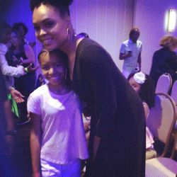 Jy'ana Wilson and Demetria McKinney attend KiddiePreneur Recognition Event - iPlay America