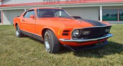 36. 70 Mustang