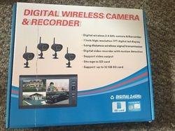 Wireless DVR system