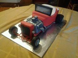 Model T Car Cake