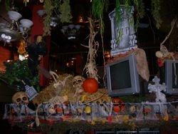 Spooky Halloween Display