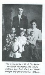David Franklin and Mildred Iva (Saylor) Colbert Family
