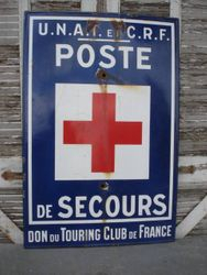 #15/279 Enamel Plaque Red Cross SOLD
