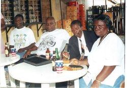 Rev.Antiri & Mr.& Mrs  Esuman at birthday  Party