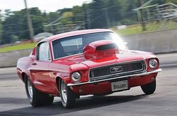 37. 68 Ford Mustang GT