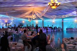 "Uplighting at ""la Sierra Event Center"