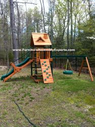 gorilla swing set assembly service in germantown MD