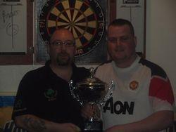Winners Keith Beale & Conor Wylie