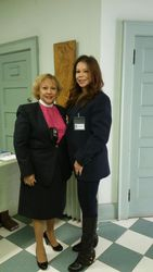 Bishop Evelyn De Leon & Chaplain Jennifer