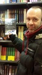 Un mio lettore in una Feltrinelli di Torino